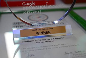 Iridium Interactive Wins Google Innovation Award for Health Care Delivery